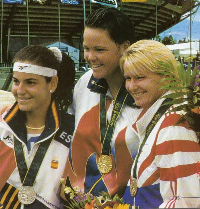 Lindsay, Arantxa and Jana Olympics 1996